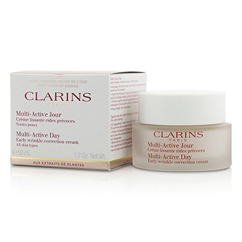Clarins Multi-Active Day Early Wrinkle Correction Cream (All Skin Types)