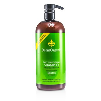 DermOrganic Argan Oil Sulfate-Free & Color-Safe Conditioning Shampoo