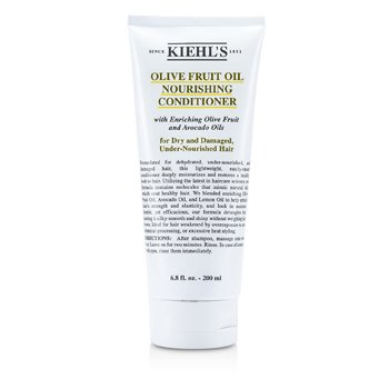 Kiehl's Olive Fruit Oil Nourishing Conditioner (For Dry and Damaged, Under-Nourished Hair)