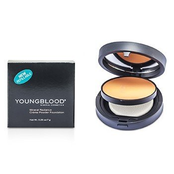 Youngblood Mineral Radiance Creme Powder Foundation - # Rose Beige
