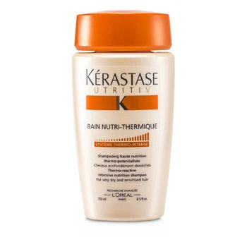 Kerastase Nutritive Bain Nutri-Thermique Thermo-Reactive Intensive Nutrition Shampoo (For Very Dry and Sensitised Hair)