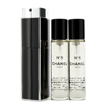 Chanel No.5 Eau Premiere Eau De Parfum Purse Spray And 2 Refills