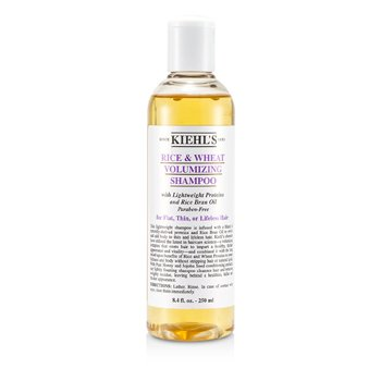 Kiehl's Rice & Wheat Volumizing Shampoo (For Flat, Thin or Lifeless Hair)