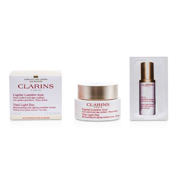 Clarins Vital Light Day Illuminating Anti-Aging Comfort Cream