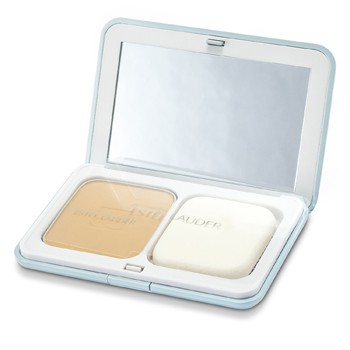 Estee Lauder CyberWhite Brilliant Perfection Full Spectrum Brightening Powder Makeup SPF25 (Case + Refill) - # 04 Warm Vanilla