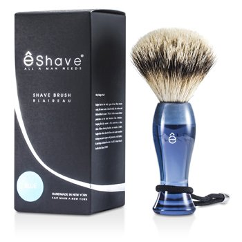 EShave Shave Brush Silvertip - Blue