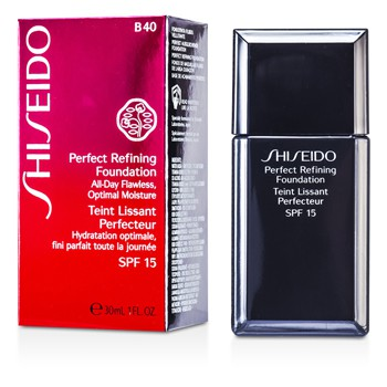 Shiseido Perfect Refining Foundation SPF15 - # B40 Natural Fair Beige