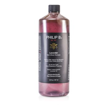 Philip B Lavender Hair & Body Shampoo (For All Hair Types, Color Protecting & Preserving)