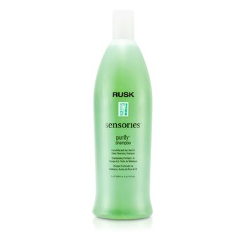 Rusk Sensories Purify Cucurbita and Tea Tree Oil Deep Cleansing Shampoo