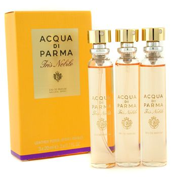 Acqua Di Parma Iris Nobile Leather Purse Spray Refills Eau De Parfum