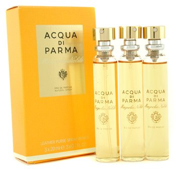 Acqua Di Parma Magnolia Nobile Leather Purse Spray Refills Eau De Parfum