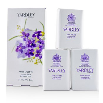 Yardley April Violets Luxury Soap
