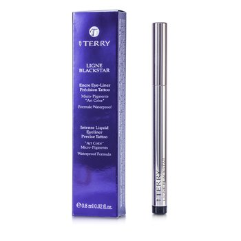 By Terry Ligne Blackstar Intense Liquid Eyeliner Waterproof - # 1 So Black