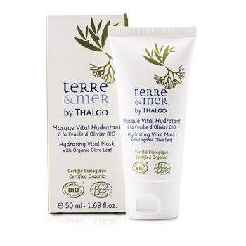 Thalgo Terre & Mer Hydrating Vital Mask With Organic Olive Leaf