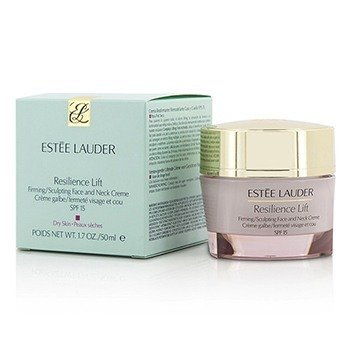 Estee Lauder Resilience Lift Firming/Sculpting Face and Neck Creme SPF 15 (Dry Skin)