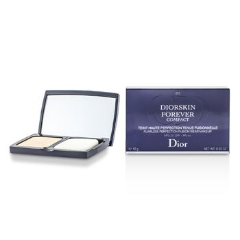 Christian Dior Diorskin Forever Compact Flawless Perfection Fusion Wear Makeup SPF 25 - #010 Ivory