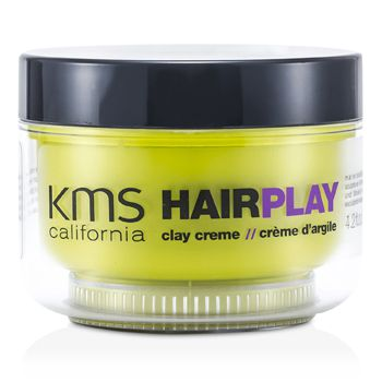 KMS California Hair Play Clay Creme (Matte Sculpting & Texture)