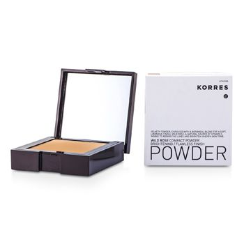 Korres Wild Rose Brightening Flawless Finish Compact Powder - WRP7 (Bronze)