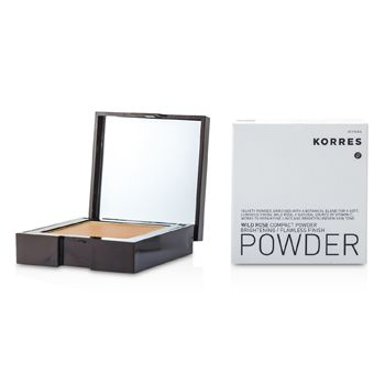 Korres Wild Rose Brightening Flawless Finish Compact Powder - WRP8 (Dark)