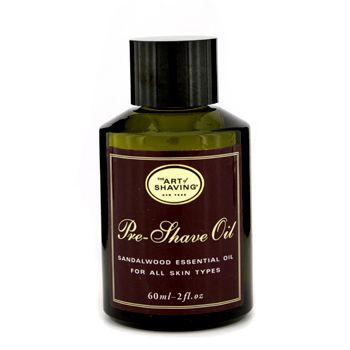 The Art Of Shaving Pre Shave Oil - Sandalwood Essential Oil (Unboxed)