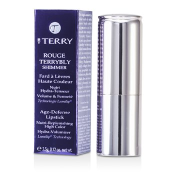 By Terry Rouge Terrybly Shimmer Age Defense Lipstick - # 801 So Flamenco