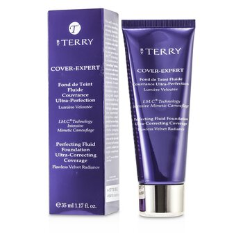 By Terry Cover Expert Perfecting Fluid Foundation - # 12 Warm Copper