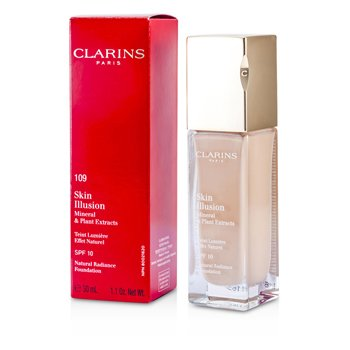 Clarins Skin Illusion Natural Radiance Foundation SPF 10 - # 109 Wheat