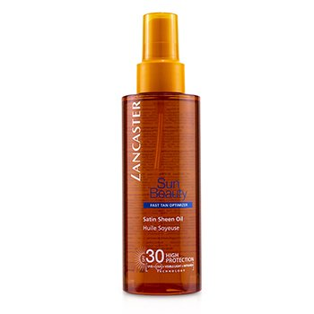 Lancaster Sun Beauty Satin Sheen Oil Fast Tan Optimizer SPF30
