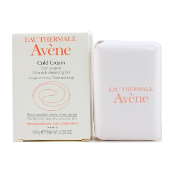 Eau Thermale Avene Cold Cream Ultra-Rich Cleansing Bar (For Dry Skin)
