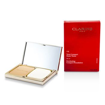 Clarins Everlasting Compact Foundation SPF 15 - # 110 Honey