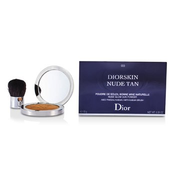 Christian Dior Diorskin Nude Tan Nude Glow Sun Powder (With Kabuki Brush) - # 003 Cinnamon