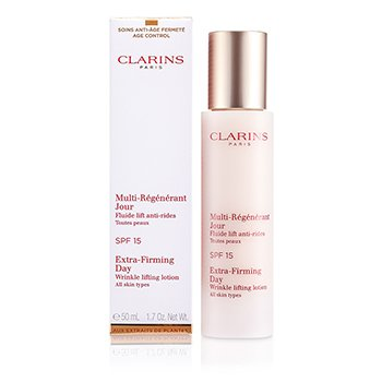 Clarins Extra-Firming Day Wrinkle Lifting Lotion SPF 15 (All Skin Types)