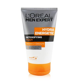 L'Oreal Men Expert Hydra Energetic Detoxifying Foam