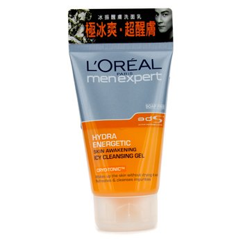 L'Oreal Men Expert Hydra Energetic Skin Awakening Icy Cleansing Gel