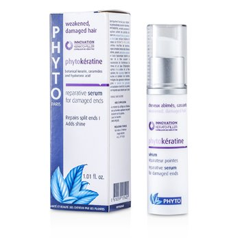 Phyto Phytokeratine Reparative Serum (For Weakened, Damaged Hair and Damaged Ends)