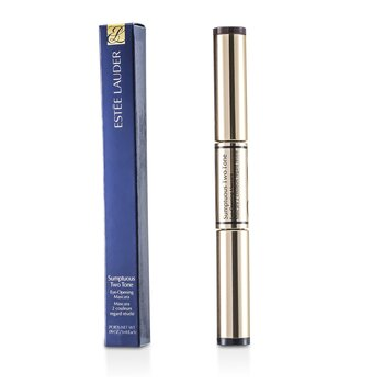 Estee Lauder Sumptuous Two Tone Eye Opening Mascara - # 01 Bold Black/Rich Brown