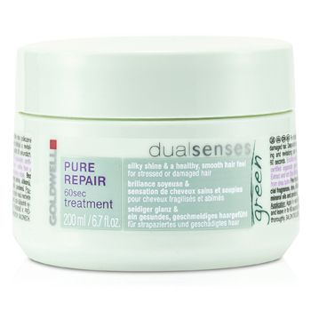 Goldwell Dual Senses Green Pure Repair 60 Sec Treatment (For Stressed Or Damaged Hair)