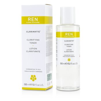 Ren Clarifying Toning Lotion For Combination to Oily Skin