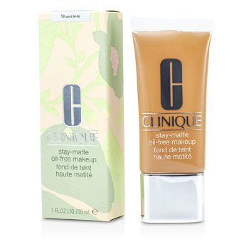 Clinique Stay Matte Oil Free Makeup - # 19 Sand (M-N)