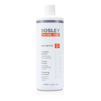 Bosley Professional Strength Bos Revive Nourishing Shampoo (For Visibly Thinning Color-Treated Hair)