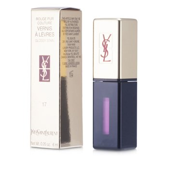 Yves Saint Laurent Rouge Pur Couture Vernis a Levres Glossy Stain - # 17 Encre Rose