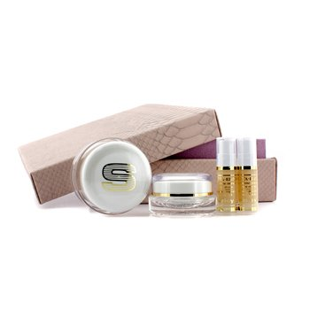 Sisley Anti-Age Prestige Kit: Sisleya Global Anti-Age Cream 50ml+Sisleya Eye & Lips Contour Cream 15ml+Sisleya Elixir  5ml x 2