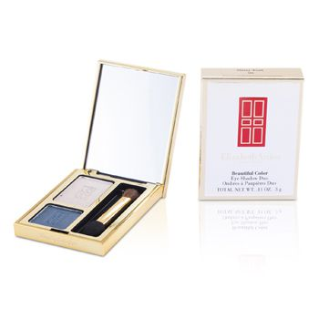 Elizabeth Arden Beautiful Color Eyeshadow Duo - # 06 Misty Teal