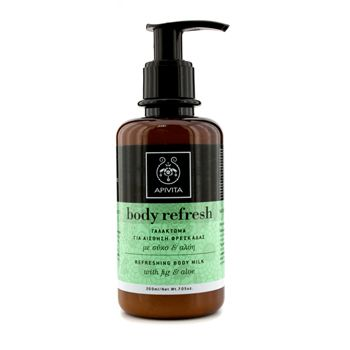 Apivita Body Refresh Refreshing Body Milk with Aloe & Fig