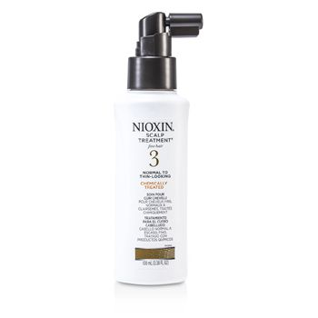 Nioxin System 3 Scalp Treatment For Fine Hair, Chemically Treated, Normal to Thin-Looking Hair