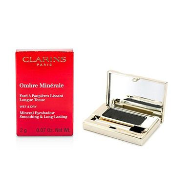 Clarins Ombre Minerale Smoothing & Long Lasting Mineral Eyeshadow - # 15 Black Sparkle