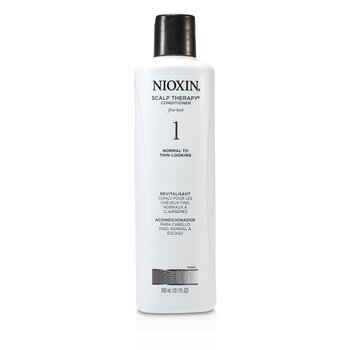 Nioxin System 1 Scalp Therapy Conditioner For Fine Hair, Normal to Thin-Looking Hair