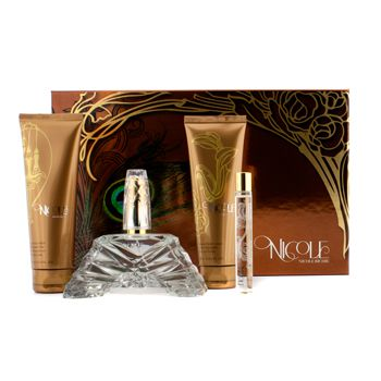 Nicole Richie Nicole Coffret:Eau De Parfum Spray 100ml/3.4oz + Body Lotion 100ml/3.4oz + Shower Gel 100ml/3.4oz + Eau De Parfum Roller Ball 10ml/0.34oz