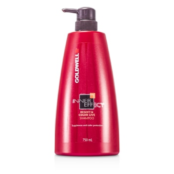 Goldwell Inner Effect Resoft & Color Live Shampoo (For Dry, Stressed & Unruly Hair)