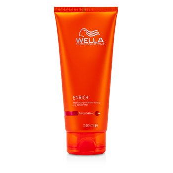 Wella Enrich Moisturizing Conditioner For Dry & Damaged Hair (Fine/Normal)